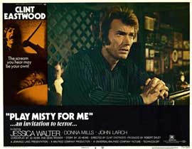 Play Misty for Me - 11 x 14 Movie Poster - Style I