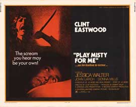 Play Misty for Me - 22 x 28 Movie Poster - Half Sheet Style A