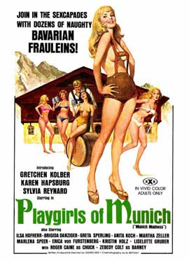 Playgirls of Munich - 11 x 17 Movie Poster - Style A