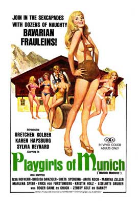 Playgirls of Munich - 27 x 40 Movie Poster - Style A
