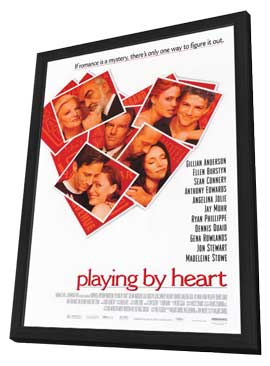 Playing by Heart - 11 x 17 Movie Poster - Style A - in Deluxe Wood Frame