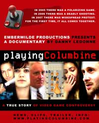 Playing Columbine - 43 x 62 Movie Poster - Bus Shelter Style A