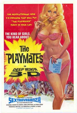 Playmates in Deep Vision 3-D - 27 x 40 Movie Poster - Style A