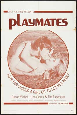 Playmates - 11 x 17 Movie Poster - Style A