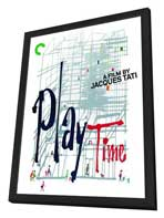 Playtime - 27 x 40 Movie Poster - Style B - in Deluxe Wood Frame