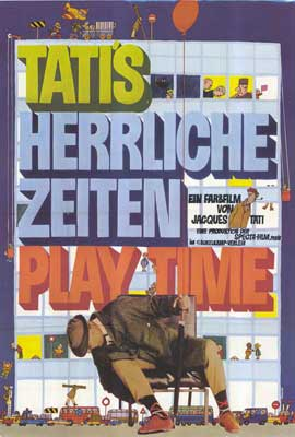 Playtime - 27 x 40 Movie Poster - German Style A