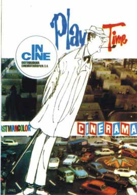 Playtime - 27 x 40 Movie Poster - Spanish Style A