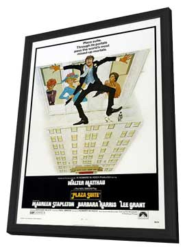 Plaza Suite - 11 x 17 Movie Poster - Style A - in Deluxe Wood Frame