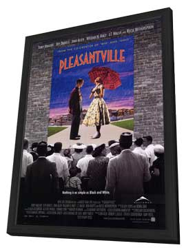 Pleasantville - 11 x 17 Movie Poster - Style A - in Deluxe Wood Frame