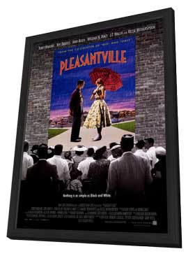 Pleasantville - 27 x 40 Movie Poster - Style A - in Deluxe Wood Frame