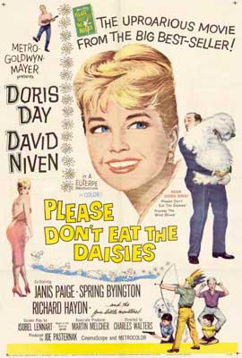 Please Don't Eat the Daisies - 27 x 40 Movie Poster - Style A