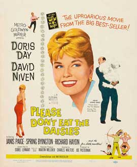 Please Don't Eat the Daisies - 11 x 17 Movie Poster - Style B
