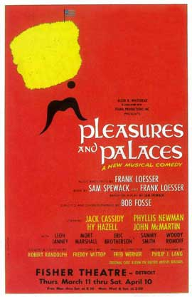 Pleasures and Palaces (Broadway) - 11 x 17 Poster - Style A