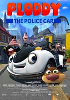 Ploddy the Police Car Makes a Splash - 43 x 62 Movie Poster - Bus Shelter Style A