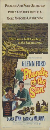 Plunder of The Sun - 14 x 36 Movie Poster - Insert Style A