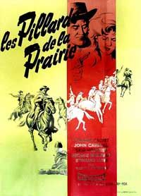 Plunderers of Painted Flats - 11 x 17 Movie Poster - French Style A