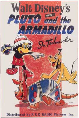Pluto and the Armadillo - 11 x 17 Movie Poster - Style A