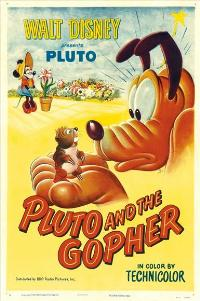 Pluto and the Gopher - 27 x 40 Movie Poster - Style A