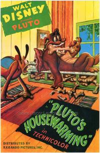 Pluto's Housewarming - 43 x 62 Movie Poster - Bus Shelter Style A