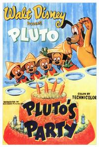 Pluto's Party - 27 x 40 Movie Poster - Style A