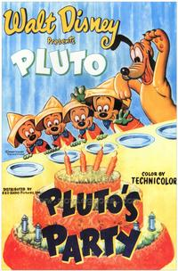 Pluto's Party - 43 x 62 Movie Poster - Bus Shelter Style A