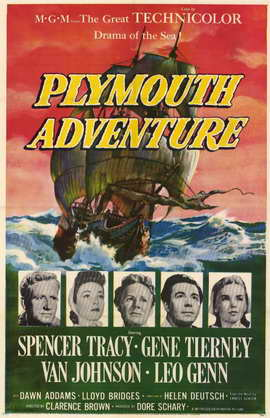 Plymouth Adventure - 11 x 17 Movie Poster - Style A