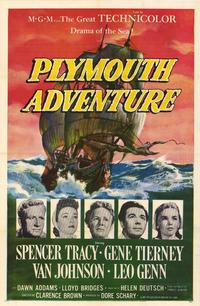 Plymouth Adventure - 27 x 40 Movie Poster - Style A