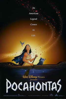 Pocahontas - 27 x 40 Movie Poster - Style C