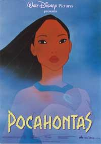 Pocahontas - 27 x 40 Movie Poster - Spanish Style A