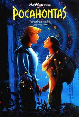 Pocahontas - 27 x 40 Movie Poster - Style D