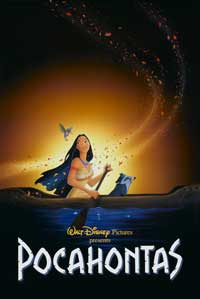 Pocahontas - 27 x 40 Movie Poster - UK Style A