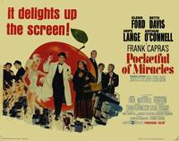 Pocketful of Miracles - 22 x 28 Movie Poster - Half Sheet Style A