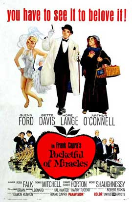 Pocketful of Miracles - 11 x 17 Movie Poster - Style A