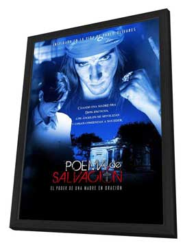 Poema de salvacion - 27 x 40 Movie Poster - Danish Style A - in Deluxe Wood Frame