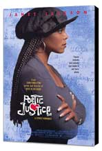 Poetic Justice - 27 x 40 Movie Poster - Style A - Museum Wrapped Canvas