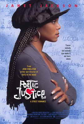 Poetic Justice - 27 x 40 Movie Poster - Style A