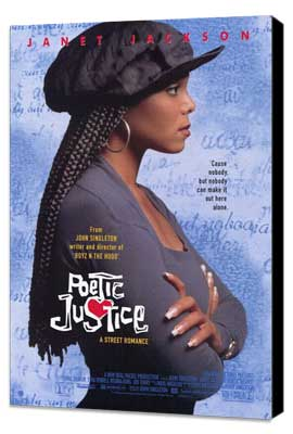 Poetic Justice - 11 x 17 Movie Poster - Style A - Museum Wrapped Canvas