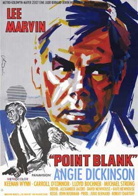 Point Blank - 11 x 17 Movie Poster - German Style A