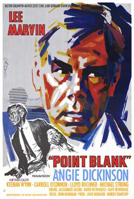 Point Blank - 27 x 40 Movie Poster - German Style A