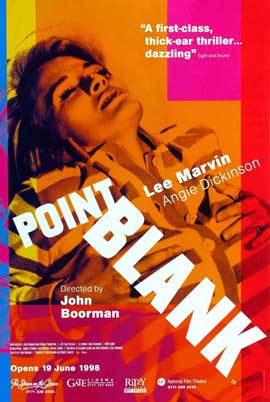 Point Blank - 11 x 17 Movie Poster - UK Style B