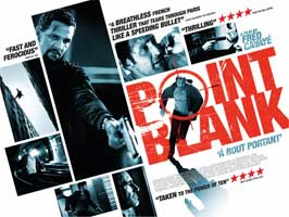 Point Blank - 11 x 17 Movie Poster - UK Style A