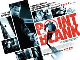 Point Blank - 11 x 17 Movie Poster - Greek Style A
