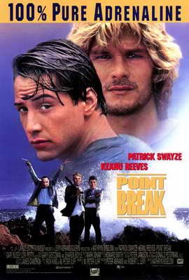 Point Break - 27 x 40 Movie Poster - Style A