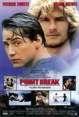 Point Break - 27 x 40 Movie Poster - Style B