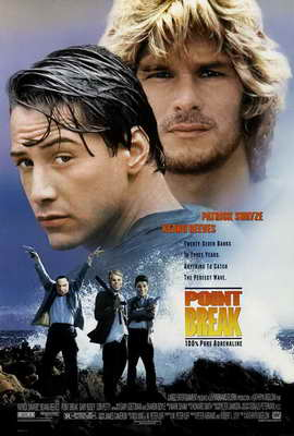 Point Break - 27 x 40 Movie Poster - Style C