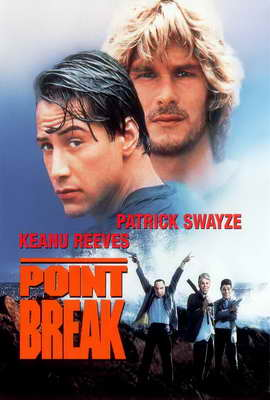 Point Break - 27 x 40 Movie Poster - Style D