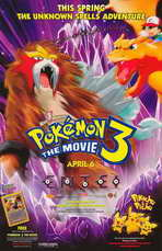 Pokemon 3: The Movie - 11 x 17 Movie Poster - Style A