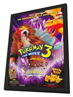 Pokemon 3: The Movie - 11 x 17 Movie Poster - Style A - in Deluxe Wood Frame