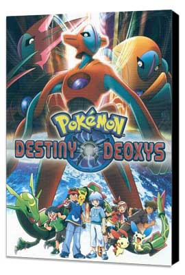 Pokemon: Destiny Deoxys - 11 x 17 Movie Poster - Style A - Museum Wrapped Canvas