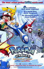 Pokemon Heroes - 11 x 17 Movie Poster - Style A
